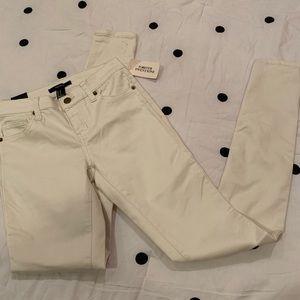Ivory Skinny Pants